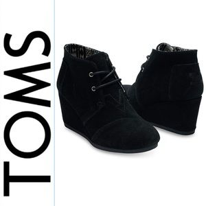 Tom's Kala Wedge Bootie